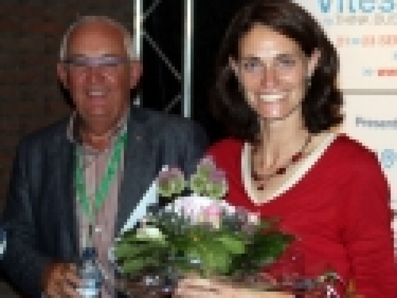 Isabelle De Smul-Brink, received the JCI outstanding young people award (TOYP)