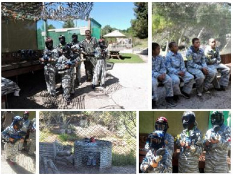 April 2016 - My dream is to play paintball with my friends