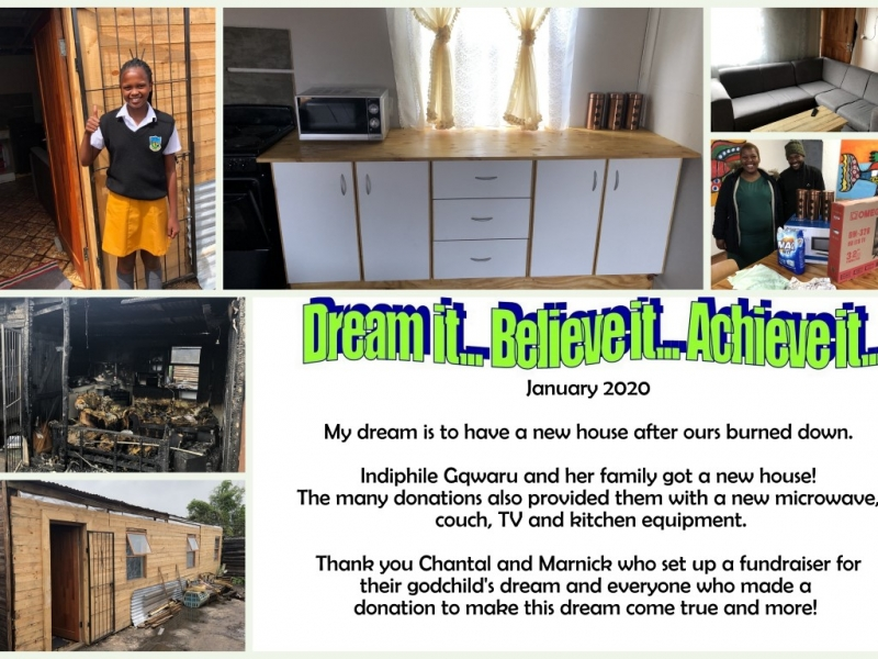 January 2020- to have a home again